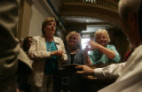Senate President Joan Fitz-Gerald, left, (D-Coal Creek Canyon) Betty Boyd (D-Lakewood), center,...
