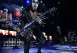 (GREENWOOD VILLAGE, Colo., June 15, 2004)  Paul Stanley, left and right of Gene Simmons, both...