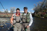 CWF member Suzanne Sneed taught Chuck Faerber to fly fish before agreeing to marry him. The couple...