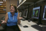 Rita Roberts, a project scientist with the National Center for Atmospheric Research (NCAR) in...