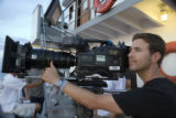 (NYT17) UNDATED -- July 23, 2006 -- DIGITAL-MOVIES-2 -- Dion Beebe using a Thomson Viper digital...