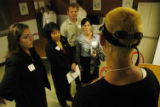 (DENVER, Colo., June 16, 2004)  Logan Johnson gives a tour of Urban Peak's homeless youth shelter...