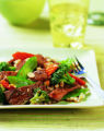 Szechuan Beef Stir Fry. Healthy Beef, a new cookbook by former Little Nell chef, says it's what's...