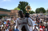 (DENVER, CO.,  JULY 1, 2004) Former Denver Nugget and George Washington High School basketball...