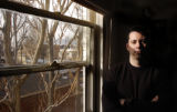 Author Adrian McKinty (cq) in his home at 555 Pennsylvania St. Monday morning February 13, 2006 in...