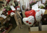 (Denver, Colorado, 2/14/2006) Lehrer's Flowers, Inc. on Mississippi Ave. in west Denver will make...