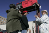 At 1101 Bannock on Feb. 22, 2006, a CBS Outdoor billboard for Special Olympics Colorado's Tax...