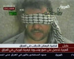 A blindfolded man described as an Iraqi-American held prisoner in Iraq is shown here in this image...