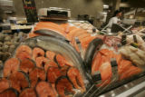Like being by the ocean, a fish display to rival any rival is ready for Safeway customers. ...