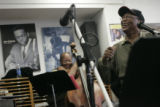 (Denver, Colorado, 2/9/2006) Legendary Jazz Trombonist Curtis Fuller (cq) came to East High School...