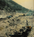 This photo taking in 1977 shows the mining on land in Black Hawk owned by Pearl Yonkers.The City...