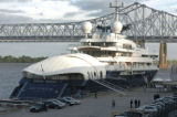 Microsoft Co-Founder and Current Chairman of Charter Communications  Paul Allen's Yacht Octopus,...