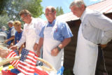 (La Plata County, CO, Shot on 062604) 3rd Congressional district candidates (from Left)Gregg...