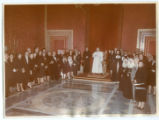 May Bonfils and Charles Stanton at the Vatican
