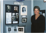 Ladies Who Made A Difference display with Betty Miller
