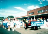 Lakewood on Parade tractor