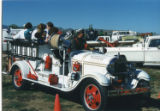 Cider Days white fire truck