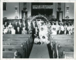 Washington Pigford Wedding reception group photo