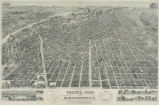 Perspective map of the city of Denver, Colo. 1889.