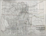 "Map of Colorado Territory to accompany Hollisters ""Mines of Colorado"" corrected from the..."