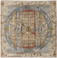[Jambudvipa map, according to Jain cosmological traditions]