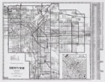 Clason's guide map of Denver, Colorado