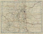 Clason's Map Co's automobile map of Colorado : best automobile roads